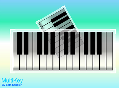 musical squares MultiKey – My first application
