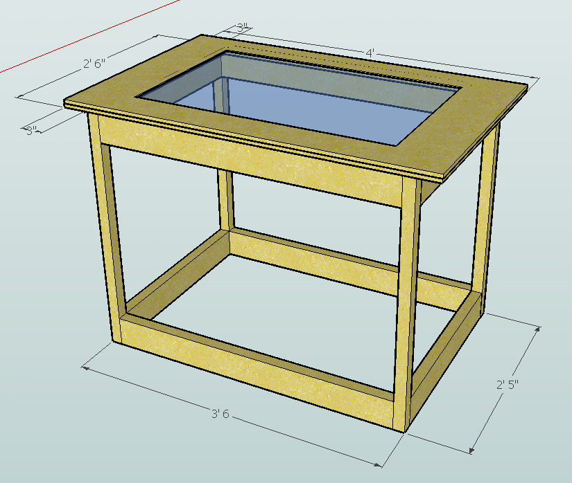 Router table plans sketchup download wood plans for Table design sketchup