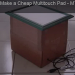 The Multi-touch mini is an inexpensive multi-touch pad that can be built within a few minutes. I created a 'MTmini' tutorial on how to build the pad for the purpose of sharing the technology and introducing a low cost solution. The video currently has nearly 2 million views.