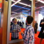 The mirror and KOL consists of two interactive displays for a leading pharmaceutical company. The mirrors scan a user's height and cater the experience to the user as they explore information about the product. The KOL units sense a user's presence and welcome them to use the display. My role for the project involved software adjustments and height scanning.